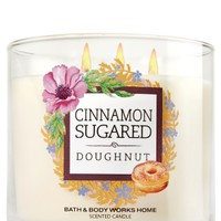3-Wick Candle Cinnamon Sugared Donut