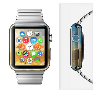 The Hammered Sunset Full-Body Skin Set for the Apple Watch