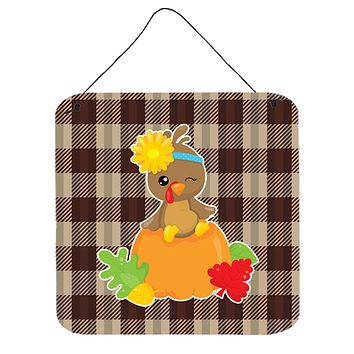 Thanksgiving Baby Turkey Wall or Door Hanging Prints BB7113DS66