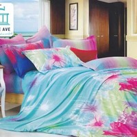 Harmony Twin XL Comforter Set - College Ave Designer Series Bedding For College XL Twin Cotton Decorative Pretty Girls