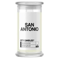 San Antonio City Candle