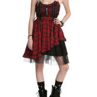 Hell Bunny Iva Red Dress