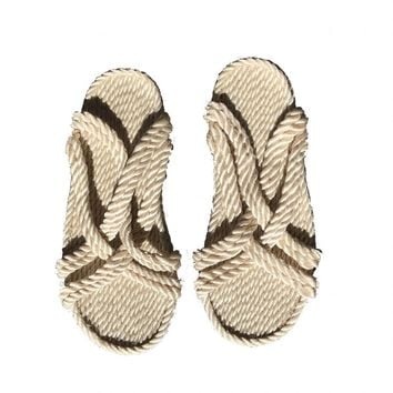 Rope Slides Natural – ROWIE The Label
