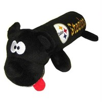 DCCKT9W Pittsburgh Steelers Plush Tube Pet Toy