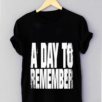 3 a day to remember 5 - T Shirt for man shirt, woman shirt XS / S / M / L / XL / 2XL / 3XL *01*