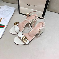 GUCCI GG sandals