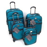 4 Piece Luggage Set 4 wheel Spinner Upright Suitcase Pullman Kenneth Cole R$1099