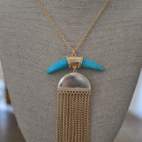 Willow Necklace Turquoise
