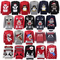 Ladies'/Men's Christmas/Novelty Knitted Jumpers