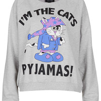 Cats Pyjamas Loungewear Top - New In This Week - New In - Topshop USA