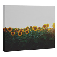Chelsea Victoria Sunflower Fields Art Canvas