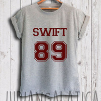 taylor swift shirt swift 89 date of birth tshirt unisex size