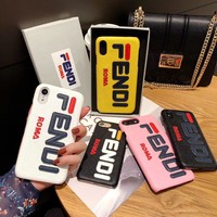 FENDI Hot ! iPhone XS iPhone XR plus - Stylish Cute On Sale Hot Deal Apple Matte Couple Phone Case For iphone 8 8plus 7 plus