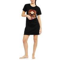 Star Wars Chewbacca Women's and Women's Plus License Skimp Sleep Shirt - Walmart.com