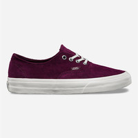 Vans Scotchgard Authentic Decon Shoes Fig  In Sizes