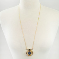 All Seeing Stone Statement Necklace