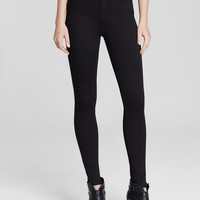 rag & bone/JEANLeggings - The High Rise in Black