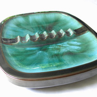 Ashtray, by Blue Mountain Pottery-Cigar Ashtray-Canadian Made