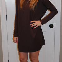 Piko Tunic/Dress, Brown