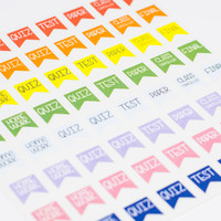 64 College Student Planner Stickers