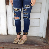 My Obsession Leopard Jeans