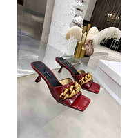 Versace Fashion Trending Leather Women High Heels Shoes Women Sandals Heel 04