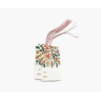Winter Berries Gift Tags - Pack of 10