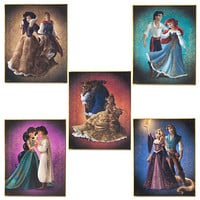 Disney Fairytale Designer Collection Limited Edition Lithograph Set | Disney Store