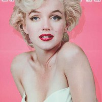 Marilyn Monroe Diamond Portrait Poster 24x36