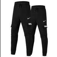 black nike pants for women men