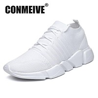 New Fashion Light Breathable Shoes Men Luxury Brand Designer Autumn Winter Casual Male Adult White Balck Mens Sneakers Us 7-11.5