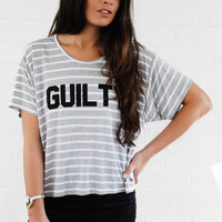 Guilty Innocent Boxy Tee