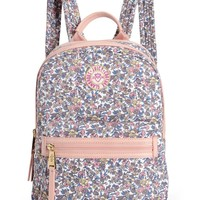 GIRLS TIVIOLI FLORAL NYLON BACKPACK
