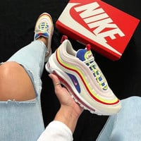 shosouvenir NIKE AIR MAX 97 Fashion and leisure sports shoes