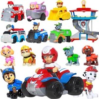 Paw Patrol dog Canine vehicle Toy Patrulla Canina Action Figures Juguetes toys Kids Children Toys Gifts