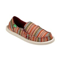 Sanuk Donna Burgundy Bayridge Blanket Sidewalk Surfers
