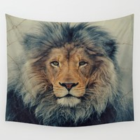 Lion King Wall Tapestry by Urban Underdogs | Society6