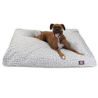 Grey Towers Large Rectangle Dog Bed