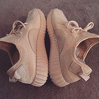 Simpleclothesv ?? Adidas Women Yeezy Boost Sneakers Running Sports Shoes