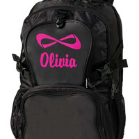 Large Embroidery | Personalized Nfinity Backpack
