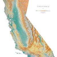 California Map-Raven Maps & Images