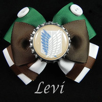 Levi Hair Bow ( Attack on Titan )