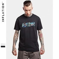 Mens Hip Hop Graphic Tees Men Streetwear Top Tees Casual Cotton T Shirt