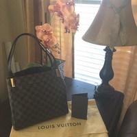 Authentic Louis Vuitton Marylebone Damier Ebene Tote Bag