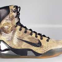 Nike Men's Kobe IX Elite High EXT QS Snakeskin