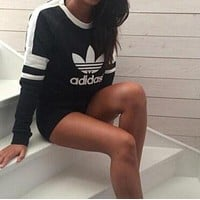 "Trendsetter ""Adidas"" Casual Print Sweatshirt Top Sweater"