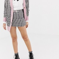 Shoptagr | Sister Jane Mini Skirt With Embellished Bow In Tweed Two Piece by Sister Jane