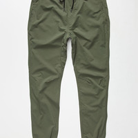 Hurley Dri-Fit Drifter Mens Jogger Pants Carbon Green  In Sizes