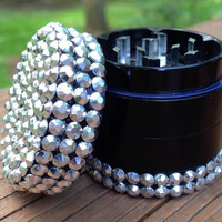 GRINDER -- MINIS Collection -- Metallic Silver