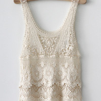 Japanese style crochet lace top  [7]
